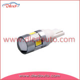 Coche auto LED de la lámpara de T10 194 W5w 6*5730SMD Canbus con la lente