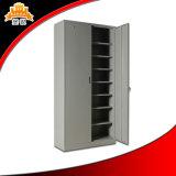 Le bureau en acier de meubles en métal a employé 2 portes/compartiments de limage de Module archivage des fichiers de rangées avec des étagères de 5 couches