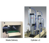 De automatische Zak die van de Hoge snelheid Machine (dfhq-450) maakt