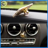 Venda 2016 quente suporte magnético do telefone do carro do metal de uma rotação de 360 graus, suporte do carro do telefone móvel