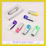 Vara 1GB 16GB da memória do USB do giro da capacidade total (GC-YM-001)