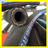 Ein Kraftstoffschlauch dehnbare des Faser-Flechten-hydraulischer Schlauch-R6 3/16 Zoll-Schlauch