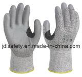 Verstärkter Schnitt-beständiger Arbeits-Handschuh mit PU (PD8046)