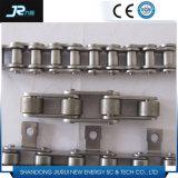 304 acero inoxidable de nylon cadena de rodillos con el Anexo