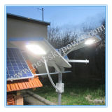 60W Solar Panel Integrated Todo no diodo emissor de luz Street Light de Um Solar