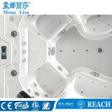 6-7 baquet acrylique de STATION THERMALE de massage de rectangle de personne (M-3342)