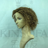 Парик 100% шнурка фронта волос Африка (Kinsofa 32038)