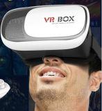 Realidade virtual que dobra a caixa do telefone móvel dos vidros de Vr do filme do jogo 3D para o iPhone 5 6 7
