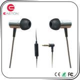 2017 Innovatieve Metaal Getelegrafeerde Oortelefoon Earbuds met StereoGeluiden
