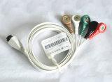 Кабель волокна ECG углерода нового продукта устранимый ECG
