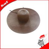 Sombrero flojo de la mujer del papel de paja