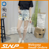 Women Clothes Embroidery Fashion Denim Short Jeans
