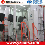 Aço inoxidável / PP Material Powder Coating Spray Booth