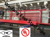 Tubo d'acciaio verniciato rosso di FM/UL ASTM A795