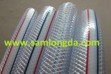 Flexibler PVC verstärkter Flechten-Schlauch (15*32)