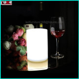 Rechargeable sans flamme LED Bougies Forme 7 Color Change Decoration LED Lamp Candle
