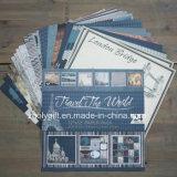"""De la impresión DIY 12 del diseño del recorrido """"paquete del papel del libro de recuerdos X12"""