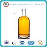 botella de cristal cristalina clara de 375ml/500ml/700ml/750ml /1L para el licor/las bebidas espirituosas