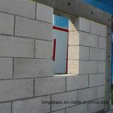 Le sable a basé les blocs légers blancs de mur du béton AAC (les briques)