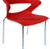 Дешевый покрашенный пластичный металл штабелируя обедать и стул кофеего (LL-0054)