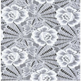Modo Polyester Fabric Lace per Lady Garments