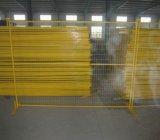 鋼鉄立場または取り外し可能な塀が付いている6ftx9.5FTカナダの一時塀