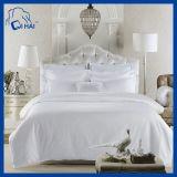 Conjuntos llanos 100% de la base del hotel del poliester blanco del color