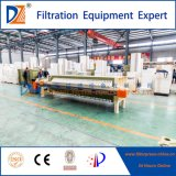 Filtre-presse contrôlé de membrane de programme pour des eaux d'égout de Paper&Pulp 870 séries