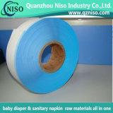 高品質SGSの証明の赤ん坊のおむつのための高いGSM付着力の側面テープ