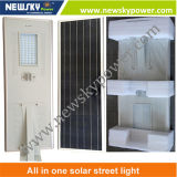60W Solar Panel Integrated All dans One Solar DEL Street Light