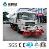 최신 판매 Sinotruk 도로 스위퍼 트럭 광범위하는 트럭 물뿌리개 광범위하는 트럭
