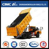 Mining PurposeのためのCabin単一のUltraの重義務6*4 Dump Truck