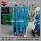 Metallfaltbares Maschendraht-Rollenbehälter-Handhaben