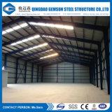 Vertente estrutural de aço Prefab do armazenamento da alta qualidade de Cusomized