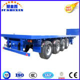 Flatbed Semi Aanhangwagen 100tons 4axles Fuwa