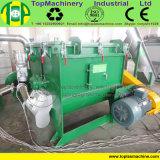 Alto film di materia plastica efficiente che ricicla riga per lo schiacciamento dell'animale domestico di plastica di lavaggio del PE pp con il granulatore bagnato