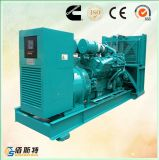 insieme di generazione diesel silenzioso di 500kVA 400kw Cummins Engine con ATS