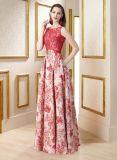 Comprimento elegante Charming A do assoalho - linha fora vestidos de casamento de Elie Saab do laço da luva do ombro dos meios para a venda (WD37)
