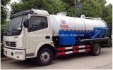 6000 litros limpo e caminhão da sução do vácuo