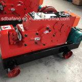 Coupeur hydraulique de Rebar de machine de découpage de barre ronde de l'acier Gq40 électrique