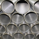 De Pijp van de Filter van de Draad van de Put van het Water van het Roestvrij staal van de fabrikant 316L