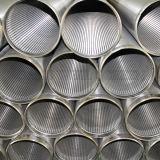 Tuyau de filtrage de fil de puits d'eau de l'acier inoxydable 316L de Mranufacture