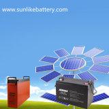 Батарея 12V200ah телекоммуникаций глубокого геля цикла перезаряжаемые переднего терминального солнечная