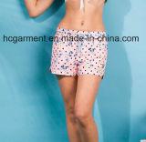여자를 위한 건조한 바닷가 착용, 널 간결 또는 숙녀 빨리 인쇄