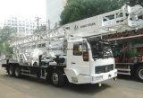 Camion Camion-Monté par approvisionnement professionnel de plate-forme de forage de faisceau de puits d'eau de profondeur des mètres 60-600