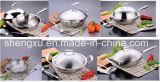 18/10 Wok Cookware нержавеющей стали китайских варя сковороду (SX-FO22-1)
