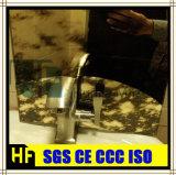 Miroir en verre de type de l'Italie de miroir de Chambre de couleur de miroir de miroir d'or décoratif de meubles