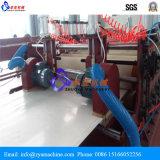 PVC 장 밀어남 기계를 위한 두 배 나사 내미는 선