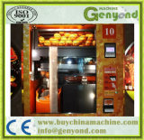 Máquina expendedora del zumo de naranja del acero inoxidable