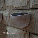 La pared al aire libre accionada solar impermeable de 12 paquetes enciende Reino Unido